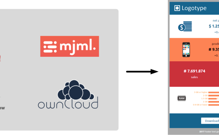 Engaging your audience with email attractive contents (mjml + jinja2 + owncloud + airflow)